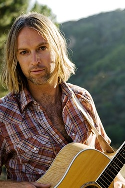HAWLEY ROLLER :  Jangle-guitaring surfer Christopher Hawley will play songs from his album The Roots of the Tree during a special acoustic set at Frog and Peach on May 27. - PHOTO COURTESY OF CHRISTOPHER HAWLEY