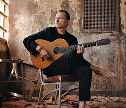 STRING MASTER :  Internationally renowned Ottmar Liebert & Luna Negra play a Numskull Productions and Good Medicine Presents show at SLO Brew on Aug. 6. - PHOTO COURTESY OF OTTMAR LIEBERT