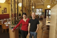 EXPERTS :  Shanny Covey and her business partner Robin Covey make culinary magic again at a charming location. - PHOTO BY STEVE E. MILLER