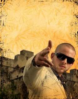 THIS BUDDZ FOR YOU :  International reggae star Collie Buddz brings his cannabis-centric hip hop/soca/reggae stylee to Downtown Brew on April 15. - PHOTO COURTESY OF COLLIE BUDDZ