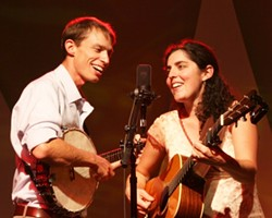DYNAMIC DUO :  Matt's Music, Stage & School presents a special concert with folk and bluegrass artists Anne & Pete Sibley on March 21. - PHOTO COURTESY OF ANNE & PETE SIBLEY