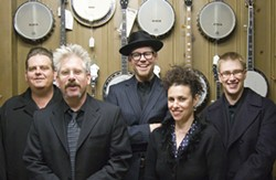 OLD PROS :  On April 3, supergroup Black Crown Stringband plays the Red Barn Community Music Series in the Red Barn at South Bay Community Park. - PHOTO COURTESY OF BLACK CROWN STRINGBAND