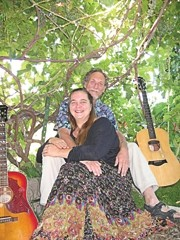 ARKANSAS TRAVELERS :  Husband and wife, Larry and Rachel Brick are Brick Fields, an acoustic folk'n'soul passing through our area from Arkansas. See them at The Wine Attic on Aug. 29, and Monteleone's Rock on Sept. 3 and 10. - PHOTO COURTESY OF BRICK FIELDS