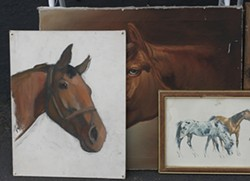HORSE STUDIES :  Stick these babies in your western-themed den! - PHOTO BY GLEN STARKEY