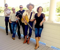 YEE HAW! :  The Swingin' Doors brings western swing and honky-tonk sounds to the Avila Bay Athletic Club on July 27. - PHOTO COURTESY OF THE SWINGIN' DOORS