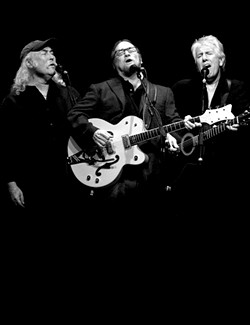 THEY'VE STILL GOT IT! :  Hear all their hit songs in their patented three-part harmonies when Crosby, Stills, and Nash play the SLOPAC on April 22. - PHOTO COURTESY OF CROSBY, STILLS, AND NASH