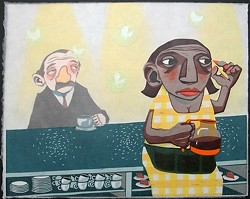 THE DINER : - IMAGE BY NICK SPOHRER