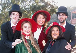 HAPPY CAROLING:  The Village Carolers will help ring in the AG Rotary Club's eighth annual Christmas and Holiday Concert and Sing-Along at the Clark Center on Sunday, Dec. 20. - PHOTO COURTESY OF THE ARROYO GRANDE ROTARY CLUB