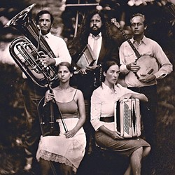 OLD-TIMEY:  The amazing G Burns Jug Band plays the Red Barn Community Music Series on July 11. - PHOTO COURTESY OF THE G BURNS JUG BAND