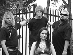 BADASSES! :  Up and coming hard rockers Derailed play Hoovers Live on Jan. 30. - PHOTO COURTESY OF DERAILED
