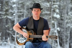 OLYMPIC TALENT :  Former Golden Glove boxer turned singer-songwriter Gordie Tentrees, who just played the Olympic Games, brings his knockout music to The Clubhouse on Feb. 26. - PHOTO BY BRUCE BARRETT