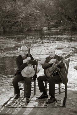 BROTHERLY LOVE:  Famously contentious brothers Dave and Phil Alvin, formerly of The Blasters, reunite for their shared love of Big Bill Broonzy, on Jan. 21 at SLO Brew. - PHOTO COURTESY OF DAVE AND PHIL ALVIN