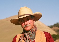 """WESTERN HERO :  Nipomo's own Dave Stamey, who has a sold-out show at Steynberg Gallery Jan. 10, recently won top honors at the annual national Western Music Association Awards where he was named both """"Entertainer of the Year"""" and """"Male Performer of the Year."""" - PHOTO COURTESY OF DAVE STAMEY"""