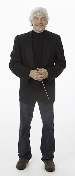 DOUBLE BARRED:  The San Luis Obispo Symphony announced May 14 that long-time Music Director Michael Nowak will be leaving the orchestra. Nowak says he was fired. - FILE PHOTO COURTESY OF MICHAEL NOWAK AND THE SLO SYMPHONY
