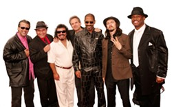 """""""WHY CAN'T WE BE FRIENDS?"""":  Seventies funk icons War play the first shows of the season at Vina Robles Amphitheatre on May 30. - PHOTO COURTESY OF WAR"""