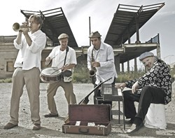 AT THE TOP :  The California Honeydrops, voted Best Soul and R&B Band in the Bay Area, come to Mr. Rick's in Avila Beach on Dec. 11. - PHOTO COURTESY OF CALIFORNIA HONEYDROPS
