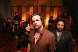 STEP RIGHT UP! :  Rusted Root takes to the Downtown Brew stage on Nov. 2, touring to support their newest offering, Stereo Rodeo, their first studio album in seven years. - PHOTO COURTESY OF RUSTED ROOT