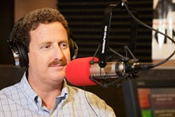MY GROWTH'S SMARTER THAN YOURS :  Santa Maria radio talk show host and leader of the Coalition of Labor, Agriculture & Business Andy Caldwell has become a common face in SLO County politics. COLAB is suing in hopes of diminishing smart growth principles in county land-use policies. - FILE PHOTO BY STEVE E. MILLER
