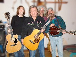 BIRTHDAY BOY :  Gritty singer-songwriter Don Lampson (forefront) will play a 64th birthday celebration with some friends at Steynberg Gallery on Jan. 31. - PHOTO COURTESY OF DON LAMPSON