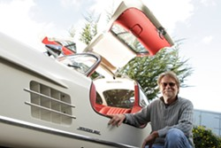 IN DEMAND :  Scott Grundfor is one of the most-sought restorers of Mercedes-Benz 300sl sports cars, with clientele worldwide. - PHOTO BY STEVE E. MILLER