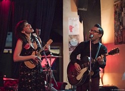 ANTIQUE POP :  Mining obscure tunes from the '20s and '30s, Victor & Penny will deliver their antique pop at Linnaea's Café on July 29. - PHOTO COURTESY OF VICTOR & PENNY