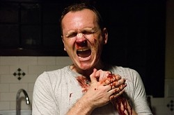 CHEAP THRILS:  One of the most striking films of the fest is Cheap Thrills, which focuses on a family man driven to the very edge by economic meltdown in a blackly funny fable. - PHOTO COURTESY OF FANSTASTIC FEST
