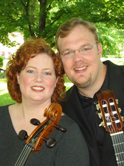FOLK-TASTIC! :  Hear music from Bach to the Beatles when Richard & Julie perform at SLOfolks concerts on Oct. 14 at Coalesce and on Oct. 15 at Castoro Cellars. - PHOTO COURTESY OF RICHARD AND JULIE