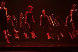 HELP :  Dancers perform an ensemble piece from last year's Variable Velocity production, Alchemy. - PHOTO COURTESY OF VARIABLE VELOCITY