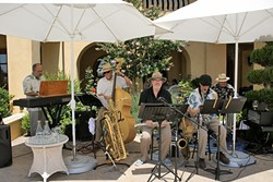 SWINGERS:  On Dec. 13 at the Pismo Vets Hall, check out Pacific Swing (pictured) and the Royal Garden Swing Orchestra when they play a Basin Street Regulars show. - PHOTO COURTESY OF PACIFIC SWING