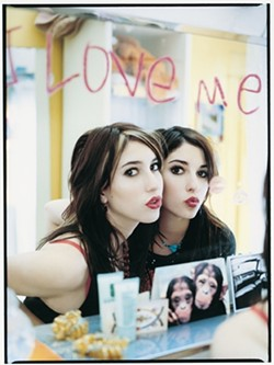 DOUBLE TROUBLE:  Australia's The Veronicas, 23-year-old twin sisters Lisa and Jessica Origliasso, bring their new wavey electronica pop to Downtown Brew on July 8 for a 16-and-over show. - PHOTO COURTESY OF THE VERONICAS