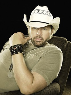 BIG DOG DADDY :  Country superstar Toby Keith recently released Big Dog Daddy; he plays July 24 at the Mid-State Fair. - PHOTO COURTESY OF TOBY KEITH