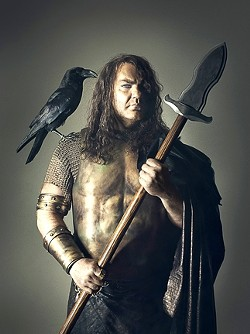 """GODS ARE PEOPLE, TOO :  Wagnerian hero Wotan appears in the Metropolitan Opera's production of Das Rheingold. The piece is the first of Wagner's opera series """"Der Ring des Nibelungen."""" - PHOTOS COURTESY OF CAL POLY ARTS"""