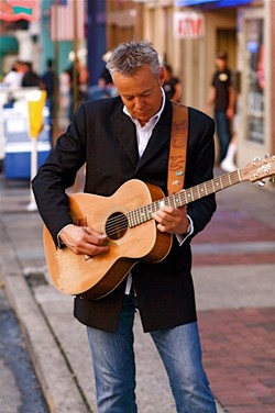 MIND BLOWING!:  Incredible Canadian guitarist Tommy Emmanuel plays a solo show at the PAC's Cohen Center on Jan. 27. - PHOTO COURTESY OF TOMMY EMMANUEL