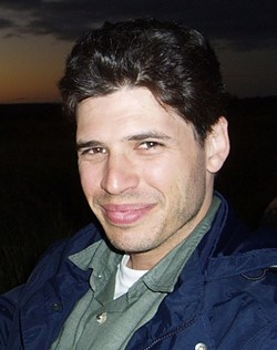 BROOKS ON BOOKS :  Max Brooks' previous novels include bestseller 'The Zombie Survival Guide' and 'World War Z: An Oral History of the Zombie War,' which was produced as a film starring Brad Pitt in 2013. - PHOTO COURTESY OF SLO LIBRARY FOUNDATION