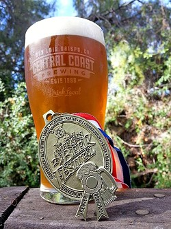 BEST PALE ALE IN THE COUNTY :  No, really. Central Coast Brewing's Monterey Street Pale Ale—one part home-brew recipe, one part new-school hops (mosaic, galaxy, citra)—took the gold medal for American-style Pale Ale at the Great American Beer Festival in September. - PHOTO COURTESY OF CENTRAL COAST BREWING
