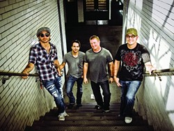 RED DIRT DELIGHT :  Cross Canadian Ragweed (pictured) shares the bill with the Randy Rogers Band at The Graduate on Jan. 14. - PHOTO COURTESY OF CROSS CANADIAN RAGWEED