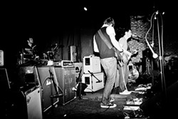 TOP SECRET! :  Expect plenty of shoegazing goodness when The Swan Thief plays Jan. 20 at SLO Brew. - PHOTO BY DAVID ROWE