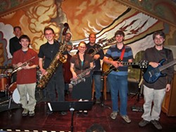 LAST YEAR'S MODELS:  On March 8 at Steynberg, check out the crop of new jazz lions. Here're last year's winners: (left to right) Justin Au, Nic Garrison, Jillian Gibson, Josh Collins, and Justin Pecot. - PHOTO COURTESY OF THE SLO COUNTY JAZZ FEDERATION
