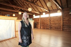 PEACE :  Kelly Metcalf provides a soothing environment and the techniques for achieving mindfulness. - PHOTO BY STEVE E. MILLER