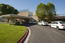 WALLS INSIDE WALLS :  If passed, Assembly Bill 1340 would require Atascadero State Hospital and other hospitals in the system to keep a detention facility on site for patients who commit assault. - PHOTO BY STEVE E. MILLER
