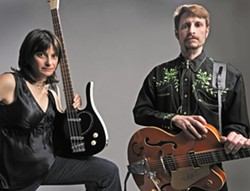 TWO HIP CATS :  On Jan. 29, check out the rockin' Ballistic Cats at Sculpterra Winery. Usually performing as an electric band, they'll appear as an acoustic duo for this show! - PHOTO COURTESY OF BALLISTIC CATS