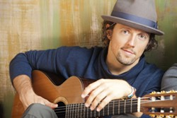 """HE'S YOURS :  Jason Mraz, best known for his hit """"I'm Yours,"""" plays a rare acoustic concert on March 19 at the PAC. - PHOTO BY DAVID HEISLER"""