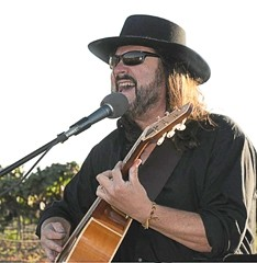 PLAYING FOR A CAUSE:  Steve Miller Band guitarist Kenny Lee Lewis (pictured) headlines a four-act fundraiser for Cary McGill on March 29 at the Oceano Elks Lodge. - PHOTO COURTESY OF KENNY LEE LEWIS