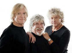 """SEMINAL :  Rock gods The Moody Blues play the PAC on May 18, delivering hit such as """"Nights in White Satin."""" - PHOTO BY MARK OWENS"""