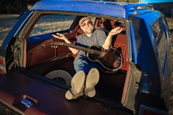 SIX STRING ZING!:  Morro Bay's own Guy Budd plays the Libertine Pub on Feb. 6 to promote his new album Another World. - PHOTO BY ADRIENNE LYNNE HARRIS