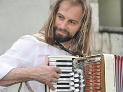 IT'S A SMALL WORLD :  Accordion master Chango Spasiuk was born in South America in a region with music was influenced by Eastern Europe, and he's become the master of the northeastern Argentina musical amalgam known as chamamé. Hear him April 7 at Congregation Beth David. - PHOTO COURTESY OF CHANGO SPASIUK