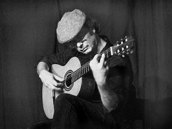 GARDEN GUITARIST :  Local vocalist Deanna Delore joins classical guitar guru James Edwards (pictured) for an outdoor concert on Sept. 19 at the SLO Botanical Garden Amphitheatre. - PHOTO COURTESY OF JAMES EDWARDS