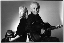 A PERFECT PAIR :  This weekend SLOfolks is giving you more musical bang for your buck when they host Steve Gillette & Cindy Mangsen (pictured) and Orville Johnson & Mark Graham during concerts on March 12 at Coalesce Bookstore and March 13 at Castoro Cellars. - PHOTO COURTESY OF STEVE GILLETTE & CINDY MANGSEN