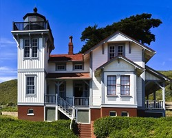 LIGHT UP YOUR HOLIDAY:  The Port San Luis Lighthouse is offering special holiday tours featuring refreshments and live music on Dec. 12, 19, and 26. - PHOTO COURTESY OF THE PORT SAN LUIS LIGHTHOUSE