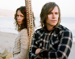 TWO FOR THE ROAD :  Some gorgeous folk is on the bill at The Steynberg Gallery on Feb. 19 when Sarah Lee Guthrie and Johnny Irion stop in as part of a West Coast tour. - PHOTO BY NEAL CASAL